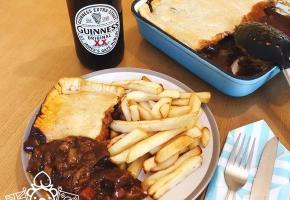 [영국주방] 집에서 느껴보는 아일랜드(Ireland) 음식, 스테이크 기네스(에일) 파이(Steak Ale Pie)