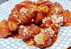 다이어트용 치킨 / 닭강정 / 닭가슴살 튀김 : 치킨까스 레시피