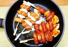 소떡소떡(떡국떡으로) & 소스 만들기