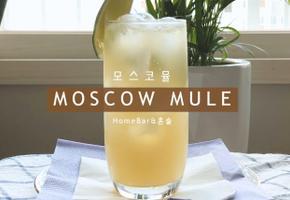 모스코뮬 칵테일 만들기/ how to make moscow mule/ 시원하게 쭉쭉들이키는 생강칵테일?