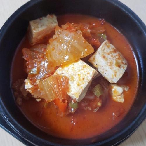 김치찌개, 돼지고기 김치찌개,목살 김치찌개,초간단 김치찌개