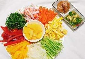 더운여름 아삭한 야채가득 월남쌈 만들기 <땅콩소스,피쉬소스 만들기>