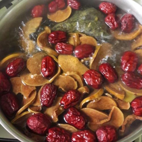 감기에 좋은 음식, 천연비타민, 기침오래할때 감모대추차