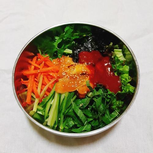 바다향이 솔솔 초간단 멍게 비빔밥 만들기