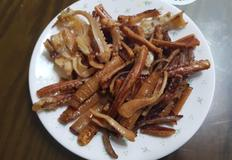 간단하게 마른오징어로 '버터구이오징어' 만들기!