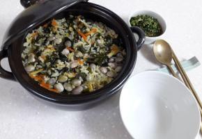 한그릇에 영양이 가득~바지락 영양밥!