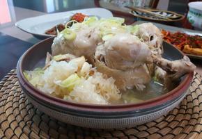 여름철 가정 보양식 닭백숙