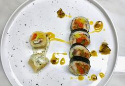 고등어 백김치말이 김밥