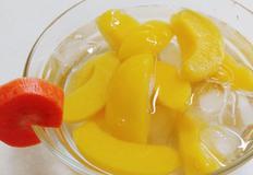 여름디저트 : 아이스황도 가 최고 : ice yellow peach