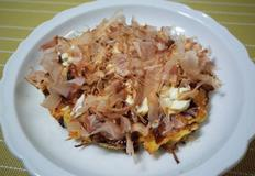 간단하고 맛있는 해산물 오코노미야끼 만들기