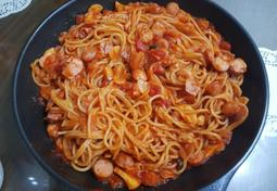 간단한 '토마토스파게티' 만들기!
