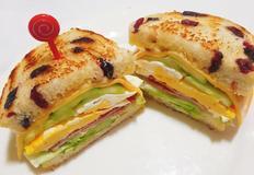소풍도시락으로 강력추천 베이컨 에그 샌드위치 만들기