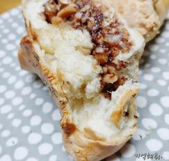 에어프라이어 베이킹 대성공 / 누텔라 땅콩빵 레시피