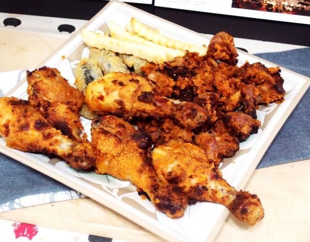 닭다리튀김