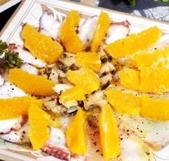 #이탈리아요리 #광어카르파치오만들기 #문어카르파치오쵸, 소라카르파치오 #상큼한 오렌지와 함께 먹는 카르파치오