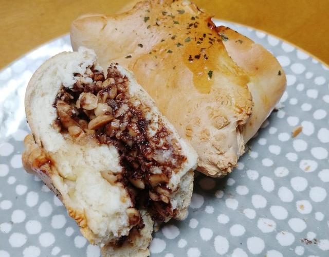 누텔라땅콩빵