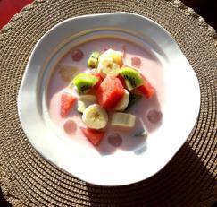 여름과일 과일화채