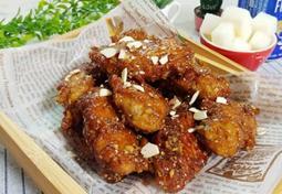 질리지 않고 느끼함 없는 마늘, 갈릭치킨(닭날개튀김)