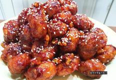 <간단요리>치킨너겟으로 닭강정 만들기