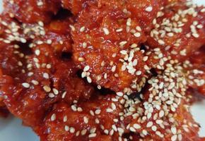 남은치킨활용법,먹다남은치킨,닭강정만들기,닭강정,닭강정소스