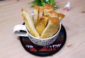 식빵러스크 만들기, 에어프라이어 요리