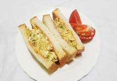 아삭아삭 식감도 좋고 맛있는 양배추 샌드위치 만들기