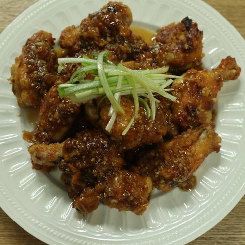 간단오븐 요리 닭봉.
