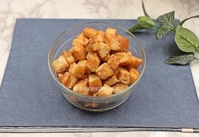 카라멜 식빵팝콘 만들기, 달콤하고 바삭한 식빵요리