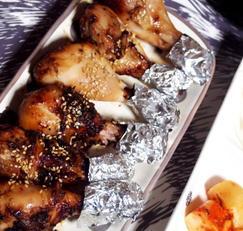 #에어프라이어요리 #닭다리구이 #닭날개구이 #굴소스와 액젓으로 간을 한 간단양념의 닭다리구이!!