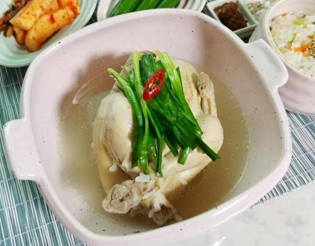 여름 보양식 삼계탕(삼계죽, 닭죽까지 끓여 초복 미리 준비해요)