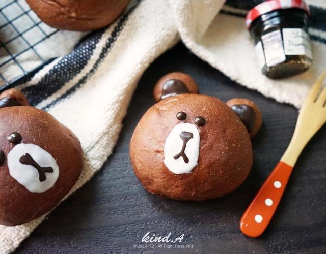 브라운초코빵