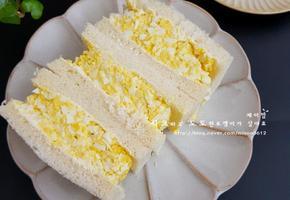 달걀 샌드위치 - 여름방학 간식