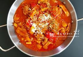 토마토치즈제육덮밥 레시피