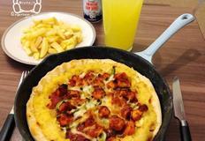 [영국주방] 동양과 서양의 맛을 섞어 만들어본 파인애플 치킨 피자(Pineapple Chicken Pizza)