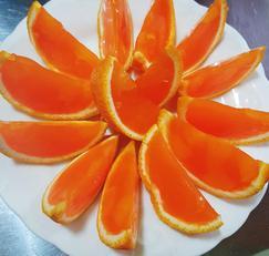상큼한 오렌지 젤리 만들기