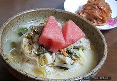 무더위, 입맛 없을 때 열무 물 김치말이 국수