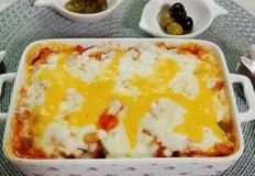 닭가슴살을 넣은 치즈그라탕(간식, 야식, 맥주안주 추천!)