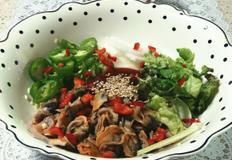 냉동 꼬막 오이맛 고추 비빔밥