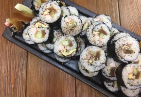 나라스케 (울외 장아찌)김밥