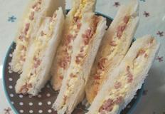 햄&에그 스프레이드 샌드위치