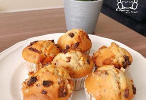 [영국주방] 달달 고소한 맛을 한 번에, 호두 캐러멜 머핀(Walnut Caramel Muffins)