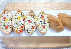다이어터를 위한 저칼로리 고단백 '두부유부초밥'초간단 레시피