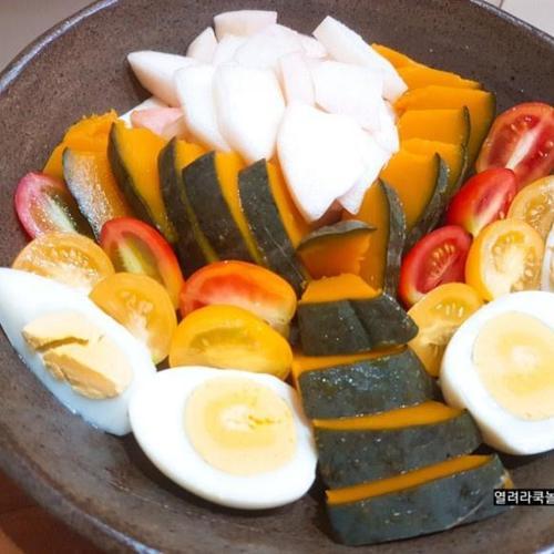 든든한 식사대용/다이어트 단호박 샐러드