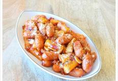 떡볶이의 또다른 맛~ 토마토소스 소떡볶이