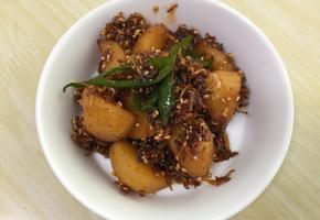 감자멸치조림