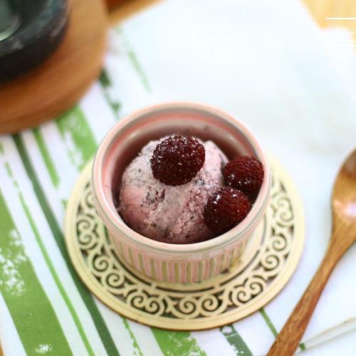 라즈베리 아이스크림 만들기