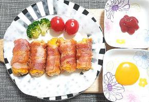 찬밥의 맛있는 변신!'베이컨치즈 주먹밥' 레시피