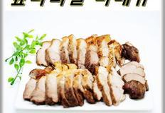 돼지고기 앞다리살 바베큐 에어프라이어에 굽기