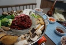 맛있는 소고기 버섯 전골 레시피