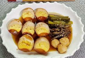 수미네반찬 달걀장조림(훈제계란으로 만들어 쫀득한 식감의 밑반찬)
